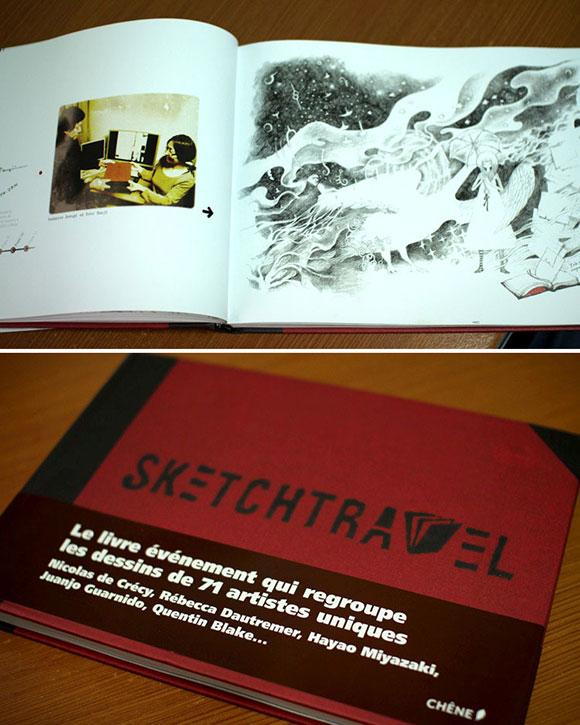 sketch travel book articolo doodling omanu