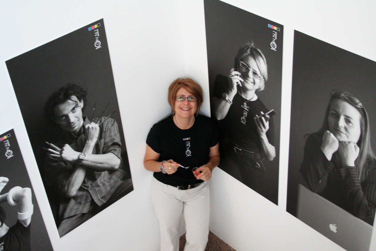 Evento Art&co 10 anni - ritratti allo staff dell'azienda