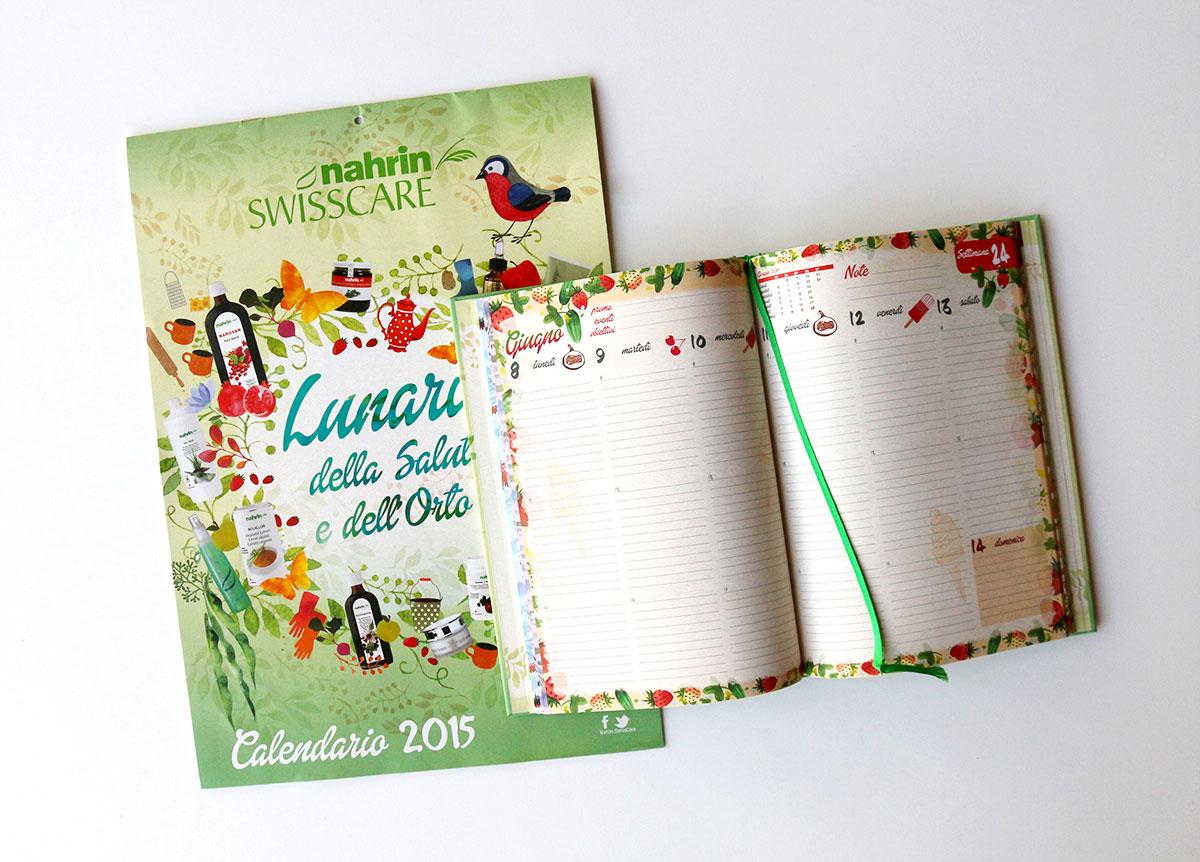Calendario e agenda swisscare