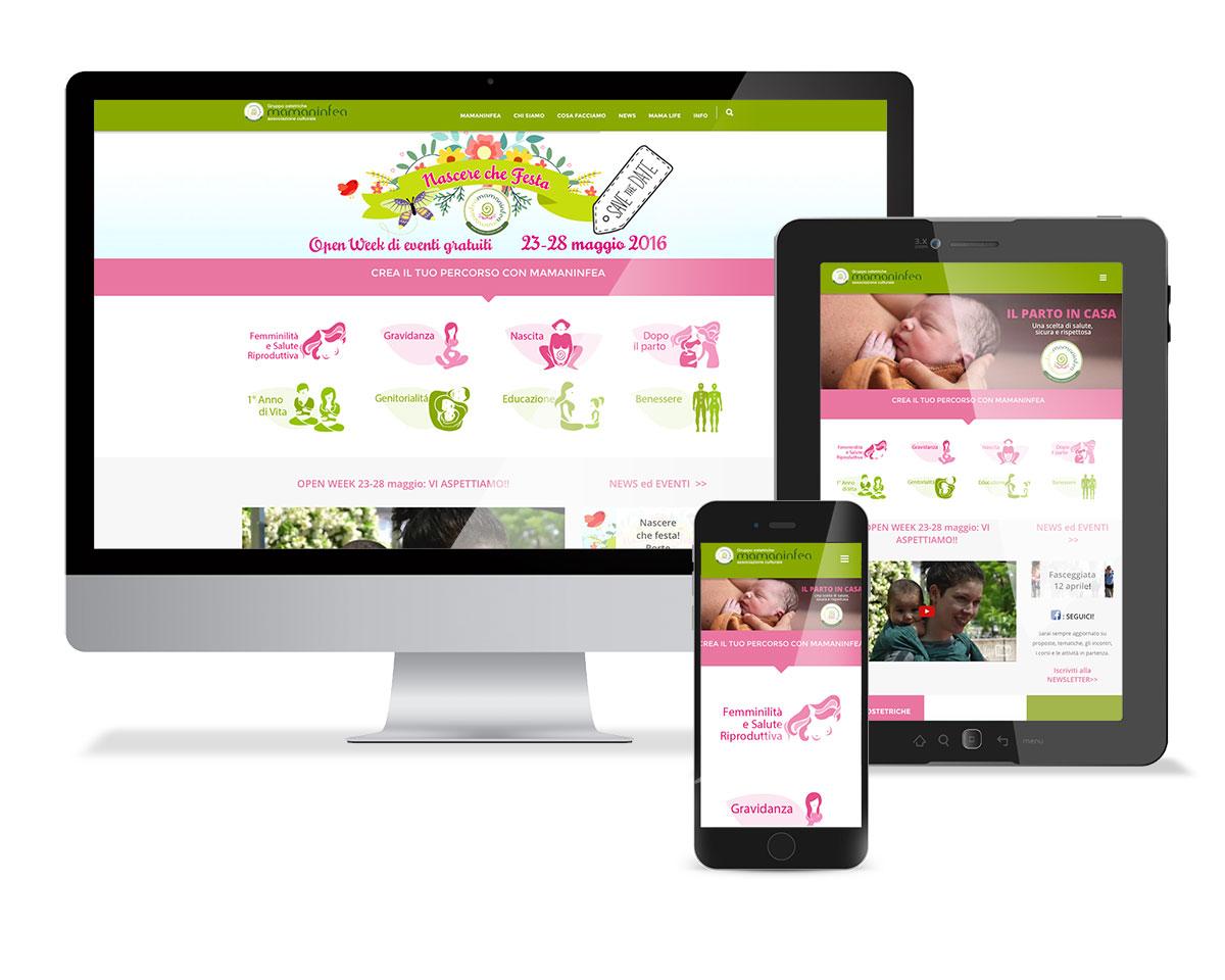 Mamaninfea web design omanu