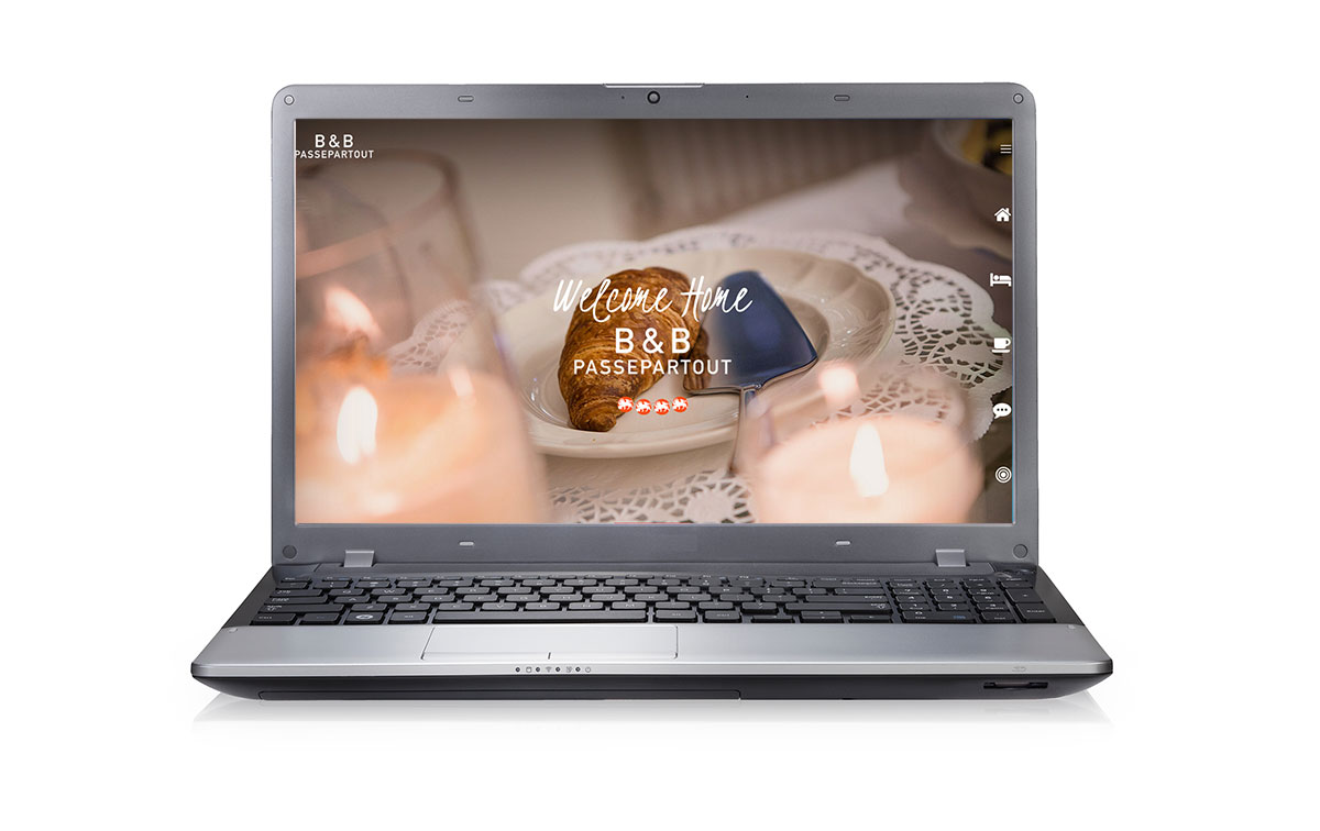 sito web b&b passepartout - webdesign Omanu