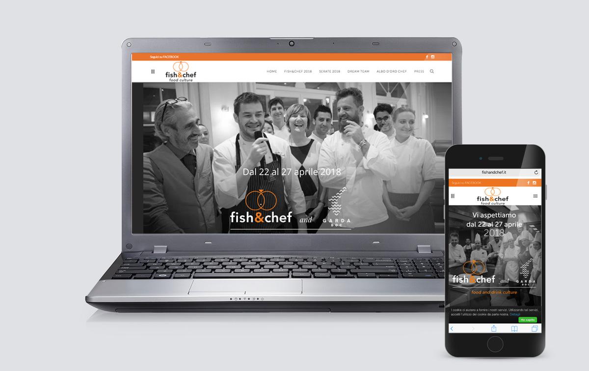 fish&chef food culture - sito evento enogastronomico sul algo di garda